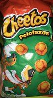 Cheetos pelotazos - Produit