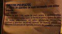 Pelotazos - Ingredientes - es
