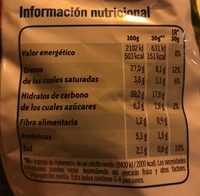 Cheetos pelotazos - Informations nutritionnelles