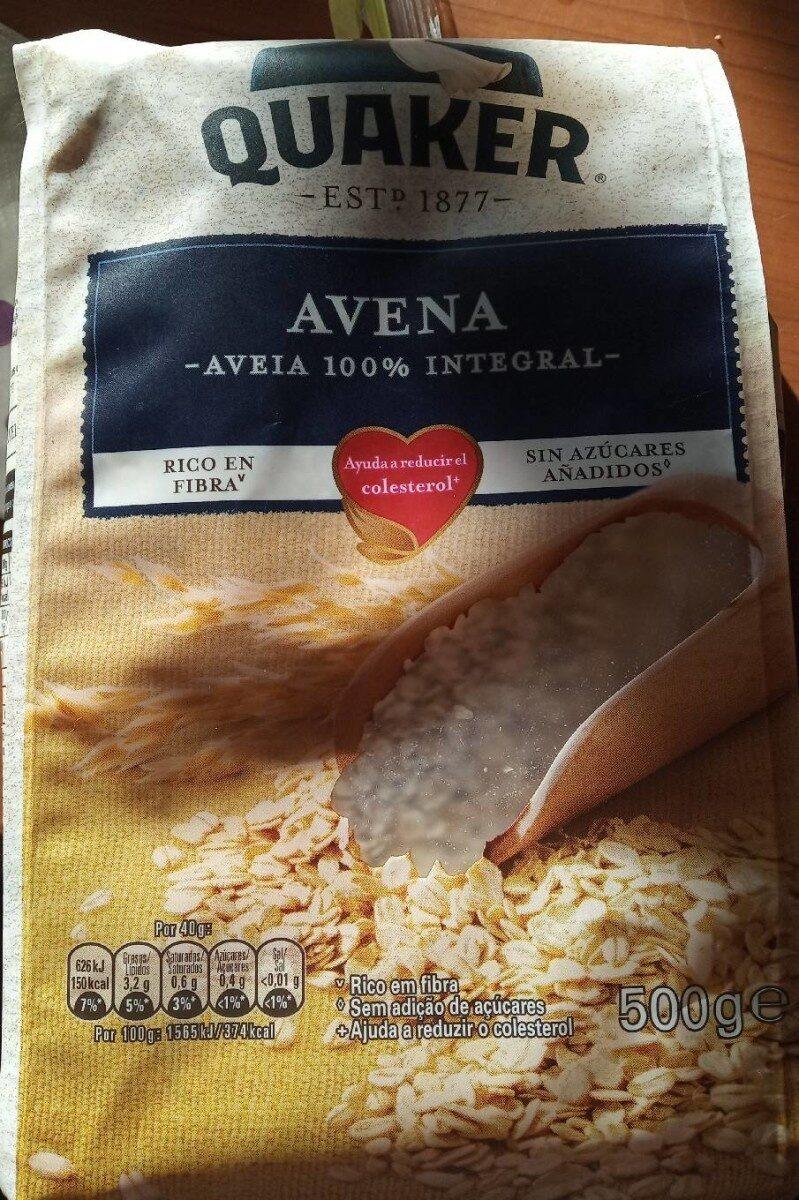 Quaker Avena 100% integral - Produto - es