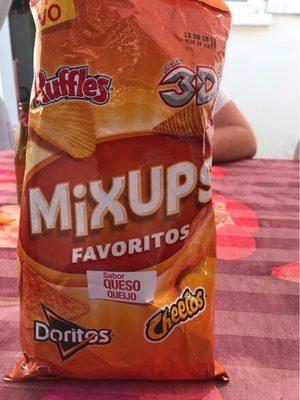 Favoritos Mix ups snacks de queso y patatas fritas bolsa 180 g - Product - fr