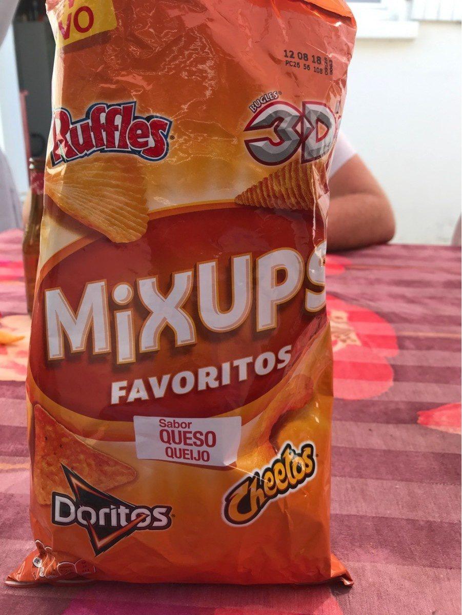 Favoritos mix ups snacks de queso y patatas fritas - Product