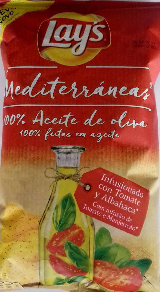 Patatas fritas mediterráneas infusionado con tomate y albahaca - Producto - es
