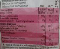 3D conos snack de maíz sabor bacon - Informations nutritionnelles - es