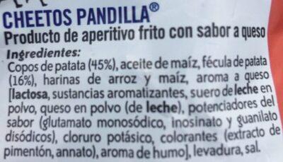 Pandilla - Ingredientes