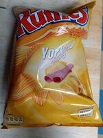 Ruffles jamon York - Product - es