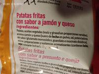 Ruffles jamon York - Ingredients - es