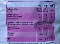 Ruffles jamon York - Nutrition facts - es