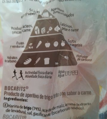 Bocabits Bolsa 27 g - Ingrediënten - fr