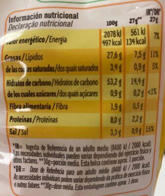Bocabits Bolsa 27 g - Voedingswaarden - fr