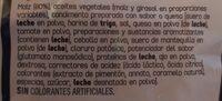 Doritos Tex Mex - Ingredientes - es