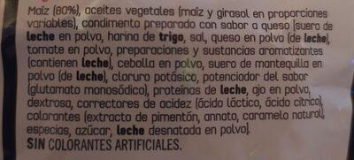 Doritos Tex Mex - Ingredients - es