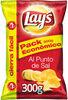 Patatas fritas Lays; Al punto de sal (300 g) - Producto
