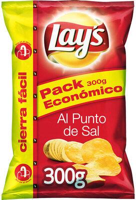 Patatas fritas Lays; Al punto de sal (300 g) - Producte