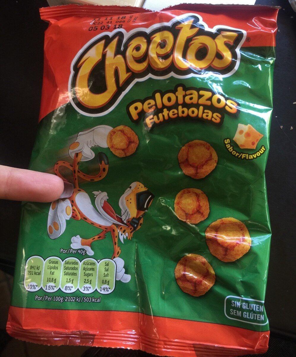 Cheetos Pelotazos Bolsa 40 g - Producto