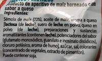 Pelotazos - Ingredients - es