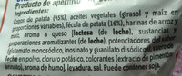 Pandilla - Ingredients - es