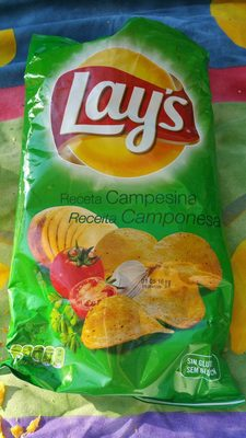 Patatas fritas receta campesina Sin Gluten bolsa 170 g - Producto