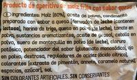 Doritos Tex-Mex - Ingrédients - fr