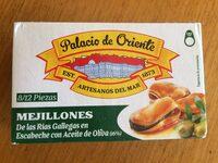 Mejillones de las rias gallegas con aceite de oliva - Producto - es