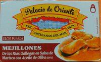 Mejillones de las Rías gallegas en salsa de marisco con aceite de oliva - Product