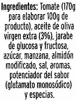 Tomate frito con aceite de oliva - Ingrediënten - es