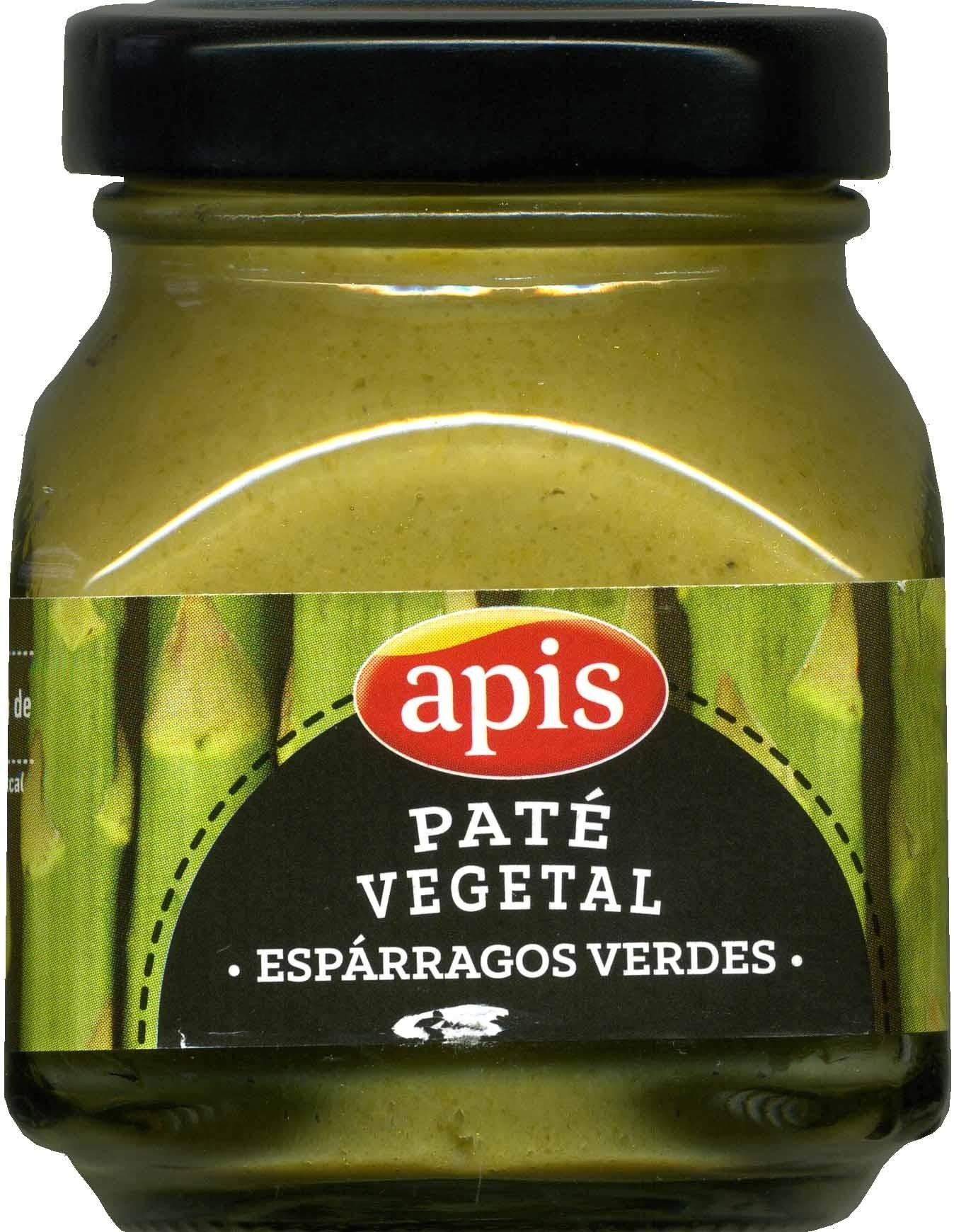 Paté vegetal de espárragos verdes - Produit