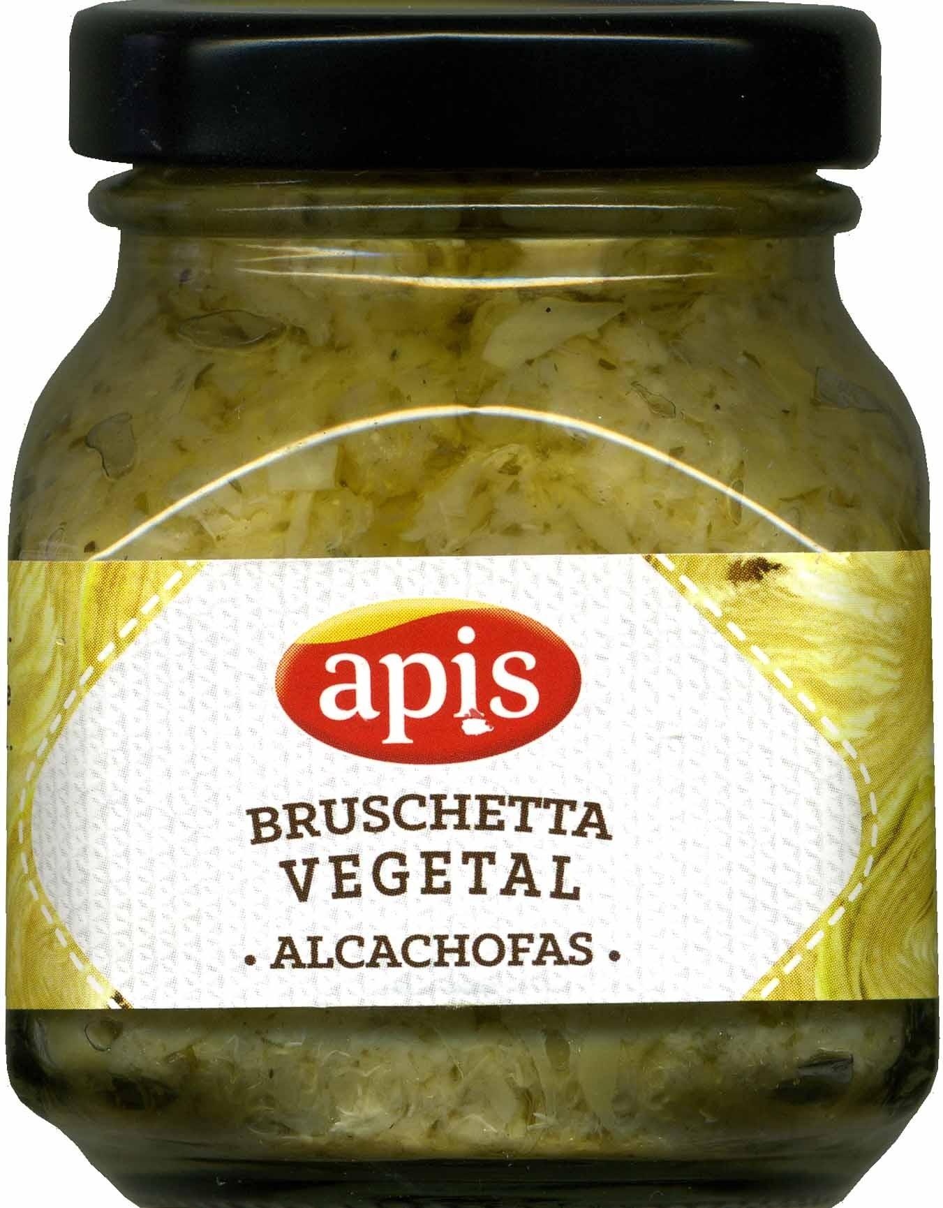 Bruschetta vegetal de alcachofas - Produit - es