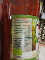Tomate Frito Ecologico - Información nutricional - es