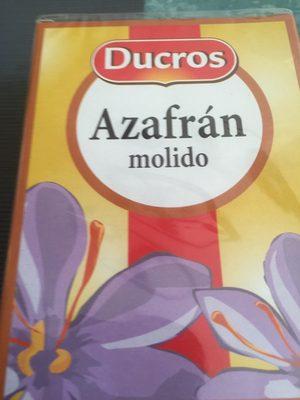 Azafrán molido - Produit - fr