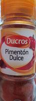 pimenton dulce - Producto