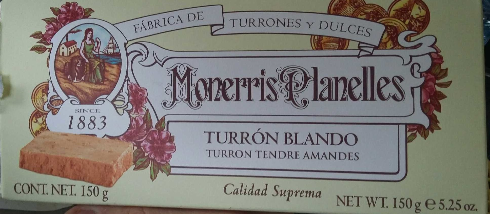 Turron Blando, tendre amandes - Producto - fr
