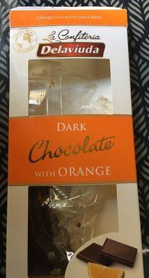 Chocolat noir à l'orange - Produit - fr