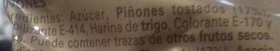 Piñones Delaviuda - Ingrédients - es