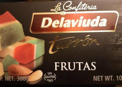 Turrón  frutas - Product