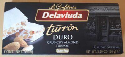 Delaviuda Turron Duro Almendras X150GRM - Produit - fr