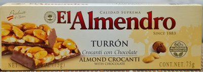 Turron Crocanti con Chocolate - Product