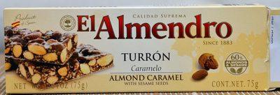 El Almendro Turron Caramelo - Product