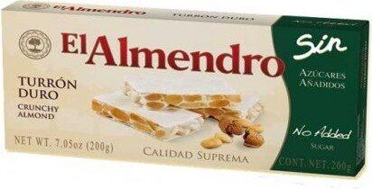 Turron Duro crunchy almond - Product - fr