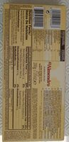 Turron Duro crunchy almond - Nutrition facts - fr