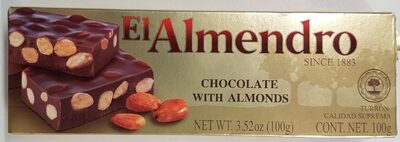 Chocolate with Almonds - Produkt - es