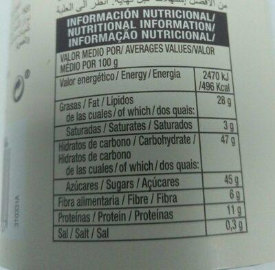 Palitos de turrón tradicional - Nutrition facts - es