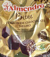 Turrón de chocolate negro - Produkt - es