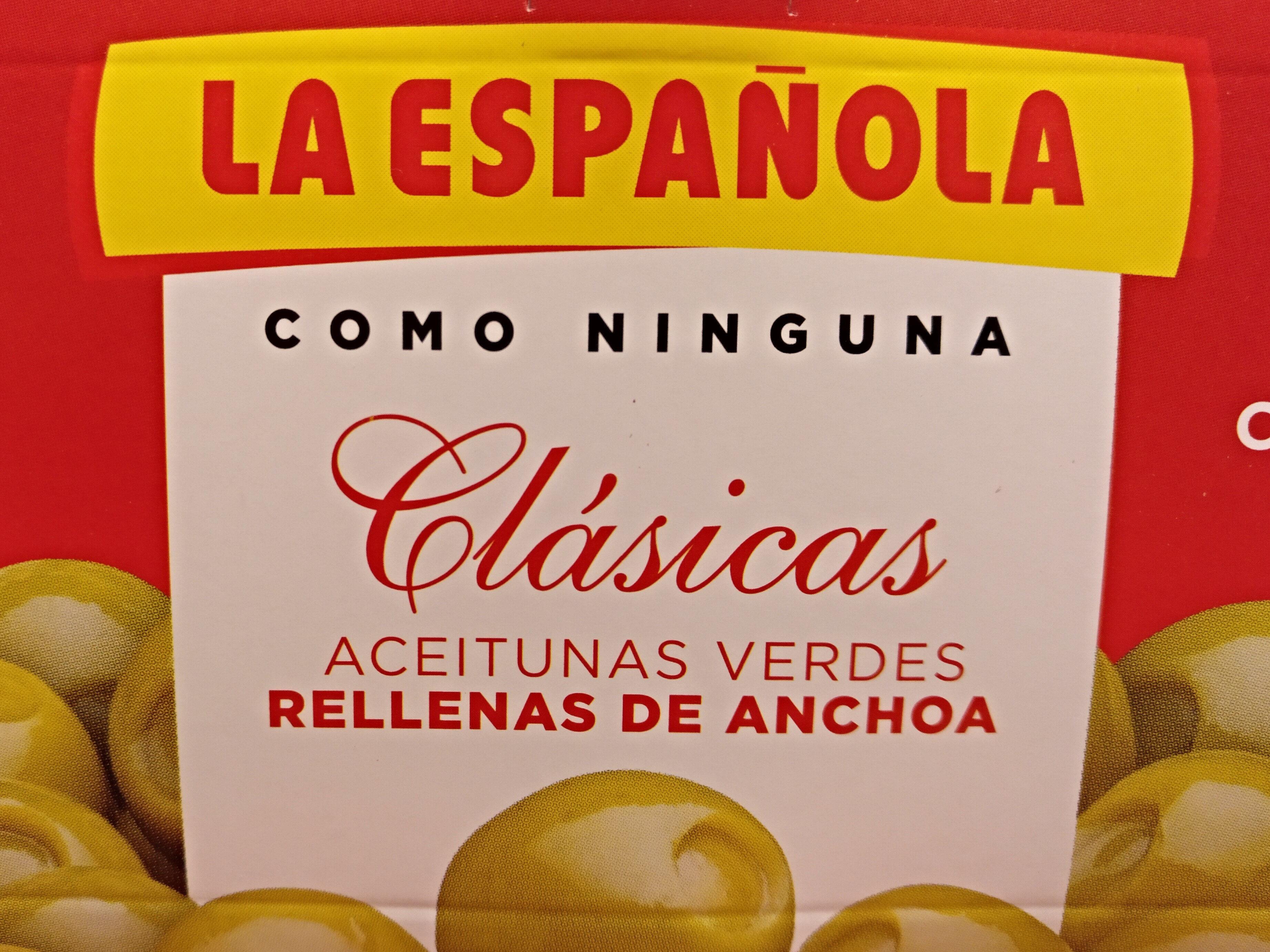 Aceitunas rellenas de anchoa latas - Product - es