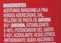 aceitunas la Española - Ingredients