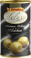 Deluxe aceitunas rellenas de anchoa lata 150 g - Product - fr