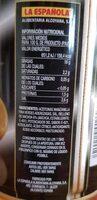 Deluxe aceitunas rellenas de anchoa lata 150 g - Nutrition facts - fr