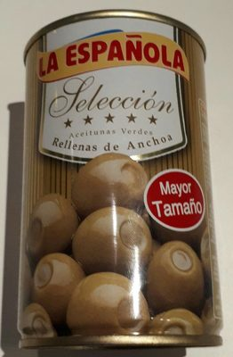 Olives farcies anchois - Product - fr