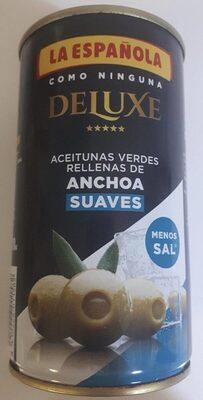 Aceitunas Verdes Anchoa Deluxe - Product - es