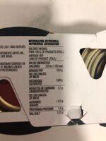 Deluxe aceitunas verdes rellenas de anchoa suaves con menos sal pack 3 latas 50 g - Voedingswaarden - es